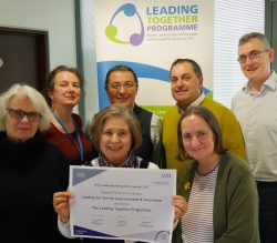 Leading Together award winners 2017